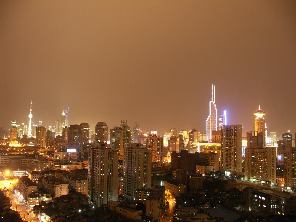 Shanghai, widok na Pu Dong.JPG